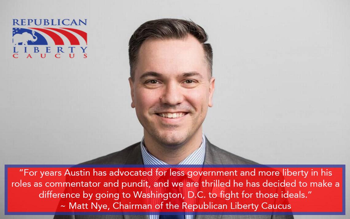 Republican Liberty Caucus Endorses Austin Petersen for US Senate in Missouri