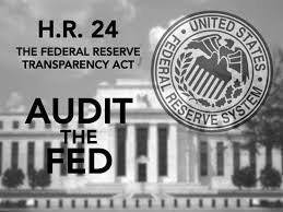 Republican Liberty Caucus Announces Support for Federal Reserve Transparency Act (H.R. 24)