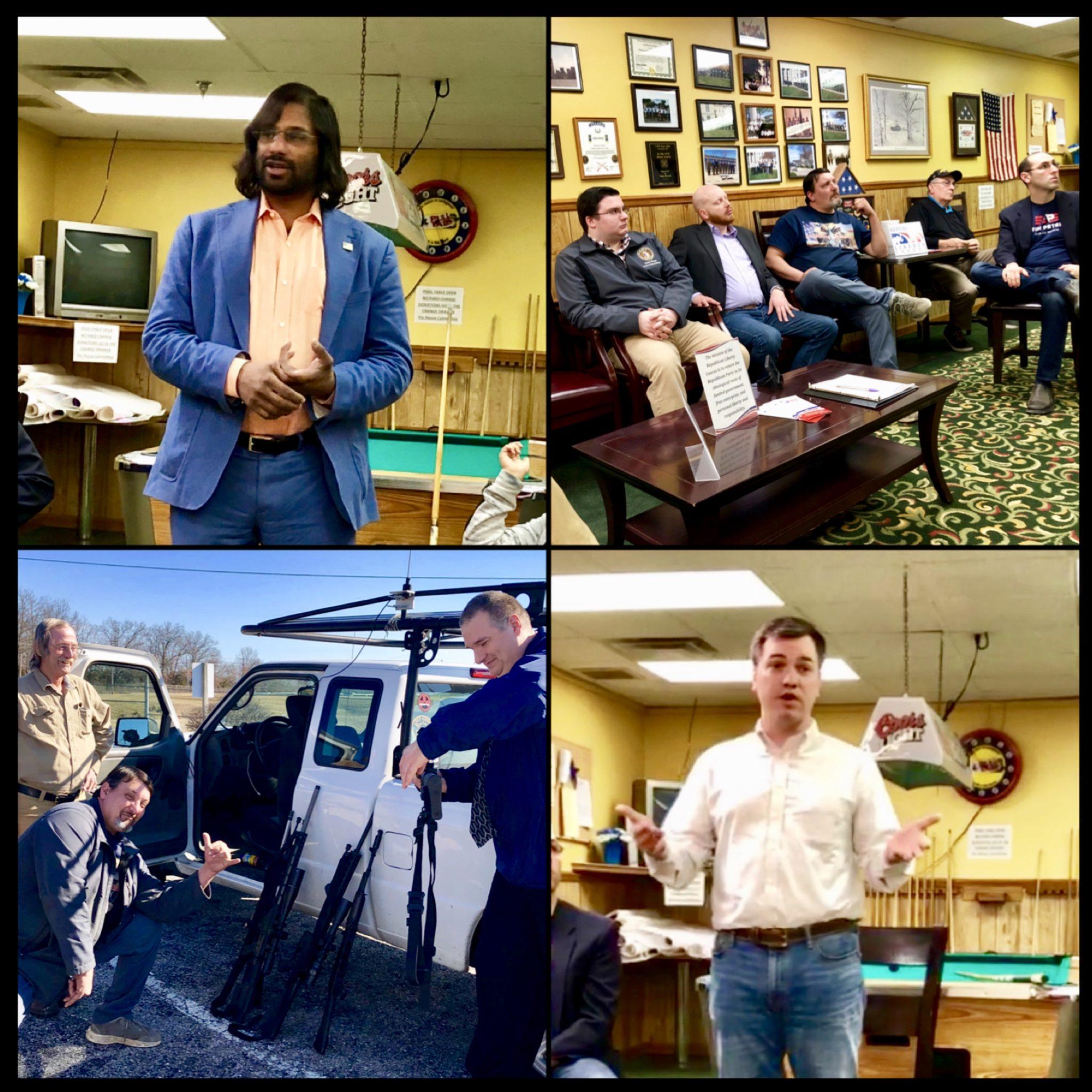 Republican Liberty Caucus of Missouri Hosts Hemp Association's, Eapen Thampy